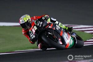 【MotoGP】カタールテスト初日:アプリリアのエスパルガロ兄がトップ。ホンダ加入の弟は17番手