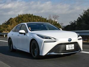 【試乗】トヨタ ミライはちょっと手を伸ばせば届く未来を実感できる燃料電池車(FCEV)