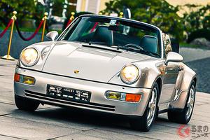 セビージャFC時代のマラドーナの愛車はポルシェ「911」だった! 純正ターボルックとは?