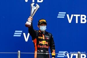 FIA F2|「プレッシャーはむしろ力になる」ランキング3番手の角田裕毅、F1昇格に向け残る2ラウンドでタイトル目指す