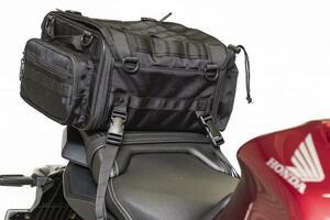 バイクにツーリングバッグは必要?日帰りから1泊2日に最適なサイズを検証します!
