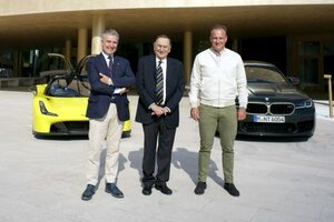 BMWとダラーラがパートナーシップを締結。LMDhプログラムでの協力体制を構築へ/IMSA
