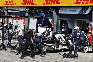 絶好調のガスリーと明暗「ミスは少なかったが、輝きもなかった」/角田裕毅の海外メディア評 F1第13戦