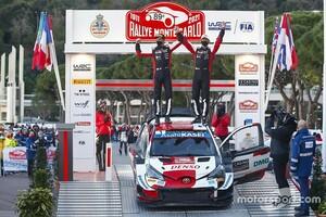 """【WRC】アイルトン・セナが憧れだった! """"モンテマイスター""""のオジェ、記録更新の8勝目を「誇りに思う」"""