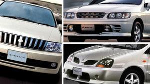 世紀末に生まれた一代限りの日産珍車三銃士  ルネッサ、ティーノ、バサラ