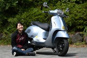 『小野木里奈の○○○○○日和』 高速道路でも気持ちに余裕が持てるベスパ「GTS SuperTech 300」の魅力