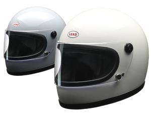 リード工業からビンテージ風フルフェイス「LEAD RX-100R フルフェイスヘルメット」が登場!