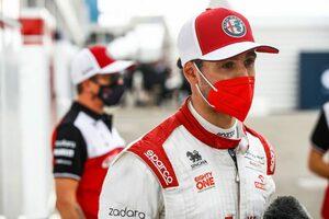 ジョビナッツィ「10位との差は1秒。あと1周あればポイントを獲れた」:アルファロメオ F1第16戦決勝