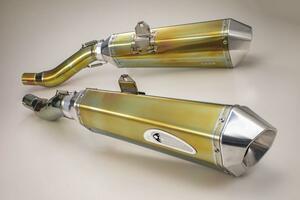 ケイファクトリーが最新技術で生み出したカワサキ「GPZ900R」用のスリップオンを発売!