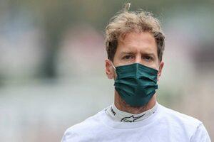 ベッテル「ステイアウトを選んだが、雨が激しくなり窮地に陥った」:アストンマーティン F1第15戦決勝