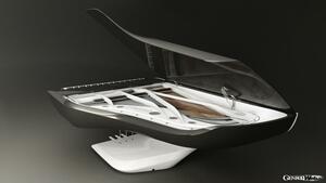 プジョーがデザインする未来のピアノ。超個性的なヨットやヘリコプターにも独自デザインを展開