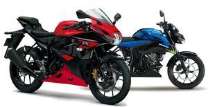 スズキが原付二種「GSX-R125」「GSX-S125」の2021年モデルを1月18日に発売! Rは3色、Sは2色で展開