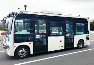 NECなど、群馬県前橋市で5G技術を活用した自動運転バスの公道実証を実施