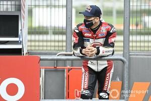 "【MotoGP】駆け引きが今後の課題? 表彰台まで""あと一歩""に迫った中上貴晶、ホンダ首脳の視線は"