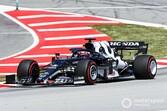 F1スペインFP3速報:レッドブル・フェルスタッペンがトップタイム、角田は12番手