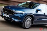 人気の電動コンパクトSUV メルセデス「EQA」に4WDモデル2車種追加! 欧州で注文開始
