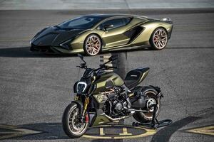 ドゥカティがランボルギーニとコラボ!「ディアベル1260ランボルギーニ」を発表! 2021年春以降に日本でも発売予定【2021速報】