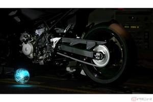 カワサキがハイブリッドバイクを開発? ティザー動画を公開
