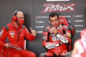 【MotoGP】「一度も良い感触が得られなかった」ペトルッチ、ドゥカティ最終戦で掉尾を飾れず|ポルトガルGP