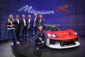 持続可能素材を取り入れた未来のレーシングコンセプトカー! ポルシェ「ミッションR」を発表