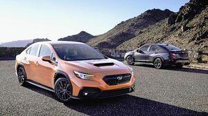 スバル、新型「WRX」公開 米国で2022年発売 2.4L直噴ターボ搭載 日本は「WRX S4」で導入予定