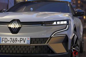 ルノー新型SUV「メガーヌE-TECHエレクトリック」世界初公開! スタイリッシュな新EVは航続距離最大470km