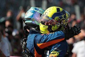 「僕自身のチャンスはこれからつかむ」リカルドに仕掛けずチームプレイに徹したノリス/F1第14戦