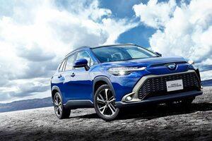 トヨタ、コンパクトSUV『新型カローラ クロス』を発売。ガソリン車とハイブリッド車を用意