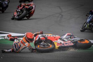 """【MotoGP】マルク・マルケス「僕の辞書に""""セーブする""""なんて言葉はない」今季最多転倒もスタイル変更拒む"""