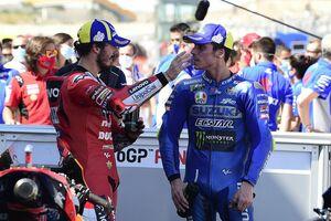 【MotoGP】ジョアン・ミル、3位表彰台も不満足「優勝争いができるペースがあったのに……」