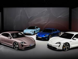 ポルシェのピュアEV「タイカン」にリア駆動の2WDモデルをラインアップに追加【欧州市場】