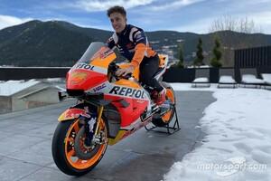 【MotoGP】今季ホンダ移籍のエスパルガロ弟「RC213Vデビューは楽しみ……でも緊張する!」