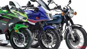ニンジャ400、SR400、CB400シリーズの三つ巴! 2020年の販売台数ランキング・400ccクラス