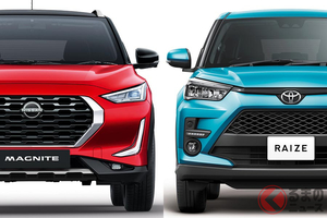 日産が全長4m以下の新型SUV「マグナイト」投入!  爆売れトヨタ「ライズ」との共通点とは?