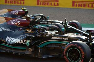 F1イギリスGPでアップデートを投入したメルセデス「レッドブルとの差を多少縮めた」と手応え