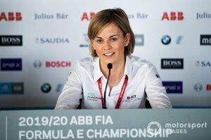 """【インタビュー】スージー・ウルフ「F1オーナーになる""""野望""""はなし。ウルフがひとりいれば十分でしょ?」"""