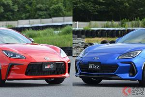 トヨタ新型「GR86」&スバル新型「BRZ」どっちが良い? 兄弟車の「味」の違いを徹底比較