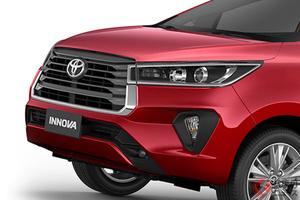 トヨタ新型ミニバン「イノーバ」刷新! 2021年モデルはデザインをスポーティに!