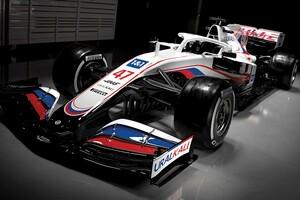 ハースF1、2021年シーズンを戦う新車『VF-21』のカラーリングを発表。タイトルスポンサー獲得でイメージ一新