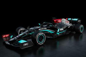 【8連覇を目指して】メルセデスAMG 新型F1マシン「W12 Eパフォーマンス」公開