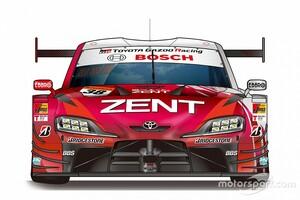 【スーパーGT】38号車ZENT CERUMOが2021年の参戦体制&新カラー発表。アシンメトリーデザイン継続