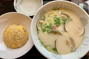 東名阪自動車道「大山田PA」で食す蛤ラーメン 桑名の特産を「PA飯」で!! バイクで行く高速道路グルメ