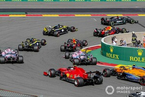 """フェラーリF1代表、スプリントレースに大きな期待「""""目標""""が達成できるなら、素晴らしい変更だ」"""