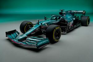 F1への本格復帰を公表していたアストンマーティンが参戦マシンの「AMR21」を公開!