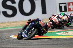 【レースフォーカス】クアルタラロ、リヤタイヤの問題で後退するもチャンピオンシップのために得た8位/MotoGP第13戦