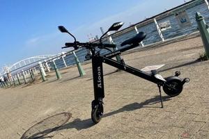 公道走行可能で電車も乗れる!? 超小型EVバイク「Aioon」一般販売開始