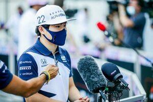 角田裕毅、F1ドライバーとしてのリスクを語る「時には危険なこともあるが、それが僕の仕事」