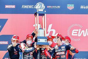二輪車「ル・マン24時間耐久レース」、スズキが「GSX-R1000」で優勝