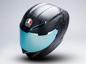 「フォージドカーボン」を採用した AGV 初のヘルメット「PISTA GP RR FUTURO」が登場!