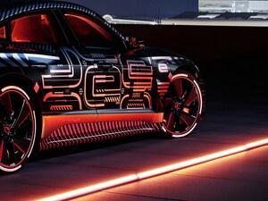 アウディが新型電動4ドアクーペ「e-tron GT」の新情報を公開